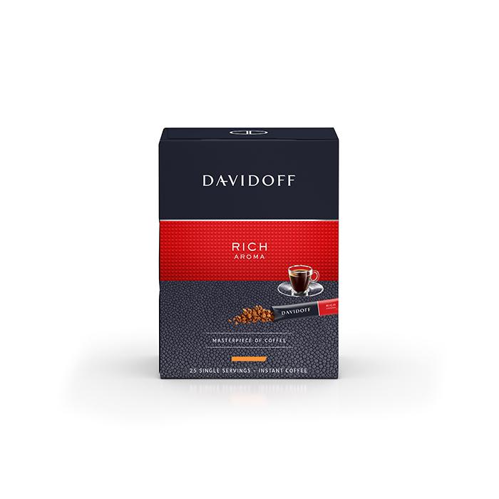 Davidoff Rich Aroma Instant Coffee Sachet 25's