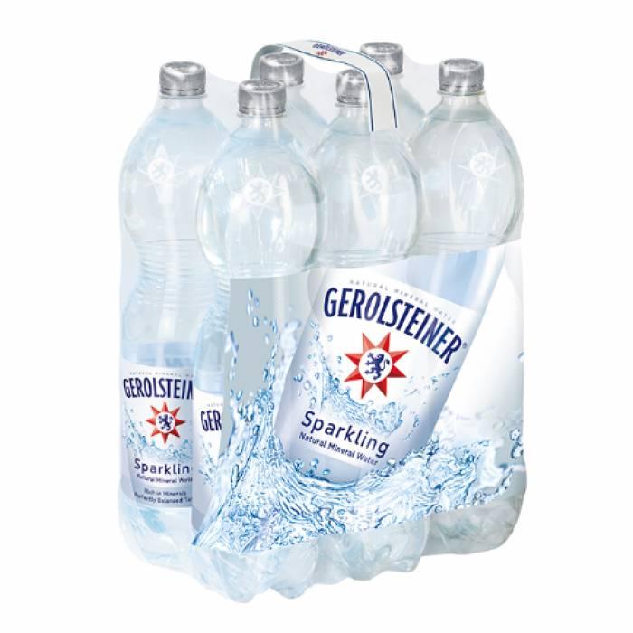 Gerolsteiner Sparkling Mineral Water 1.5L 6's